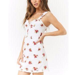F21 Floral Mini Summer Dress